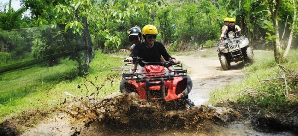 Tandem Bali Quad Bike Adventure