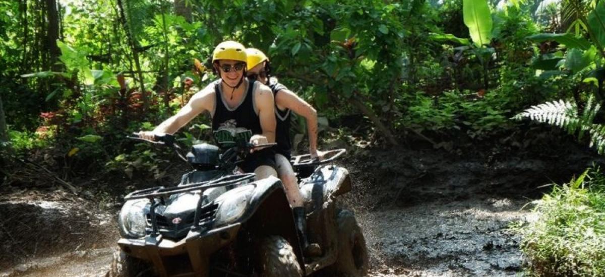 Tandem Bali Quad Bike and White Water Rafting