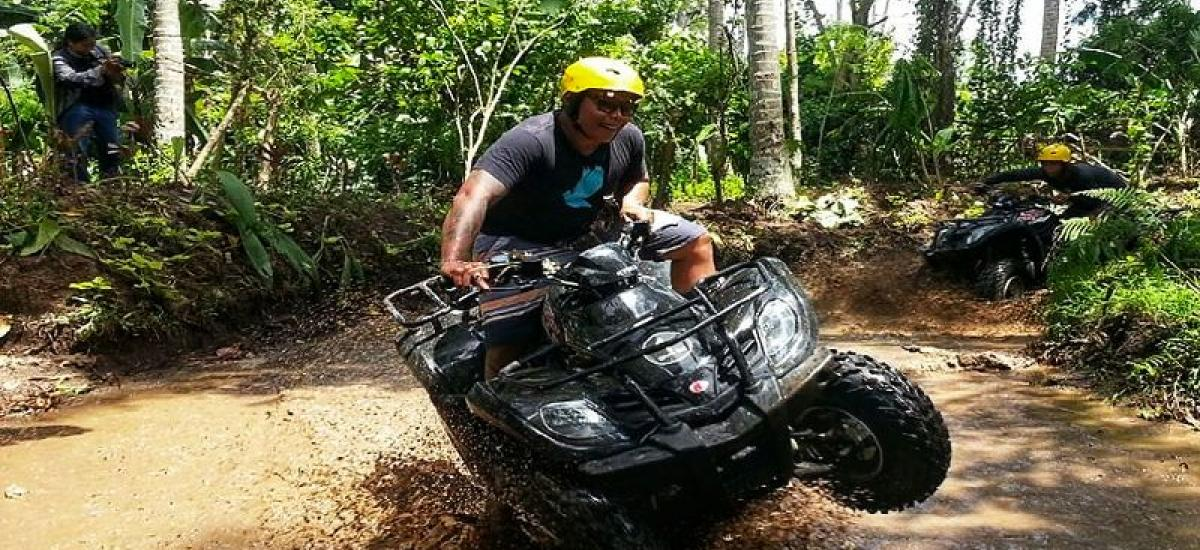 Single Bali Quad Bike Tour