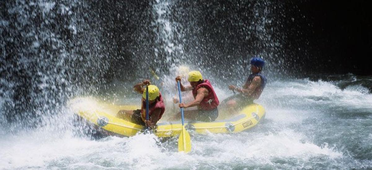 Single Bali ATV Ride and White Water Rafting