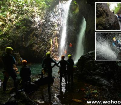 Awesome Canyoning Adventure in Wilderness of Bali