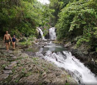 The Best Excursion in Secret Garden Waterfall Bali