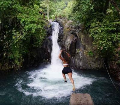 Before Going to Bali Waterfall Jumping, Let's Read 5 the Following Tips