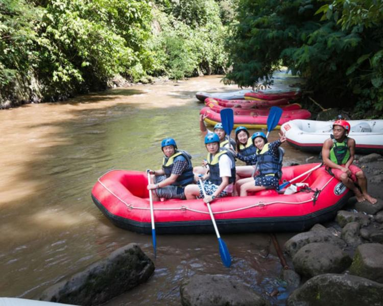 Bali White Water Rafting and Coffee Plantation Tour