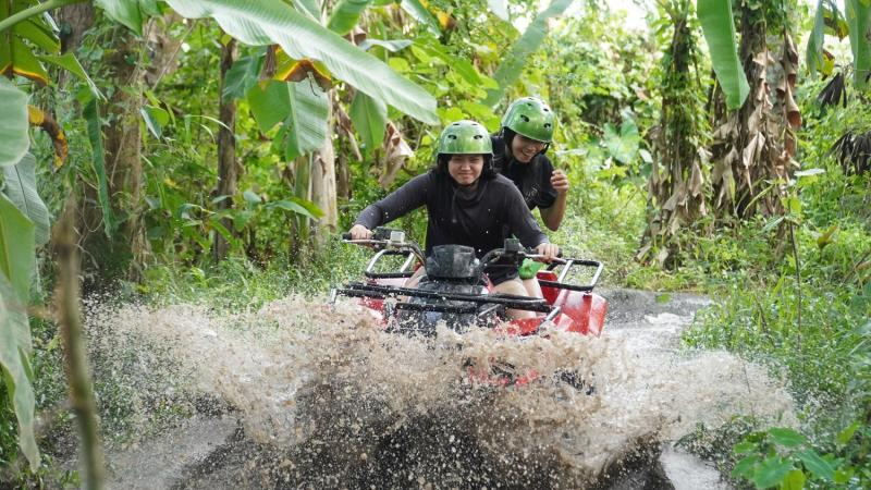 Bali Tandem Quad Bike and Rafting Tour