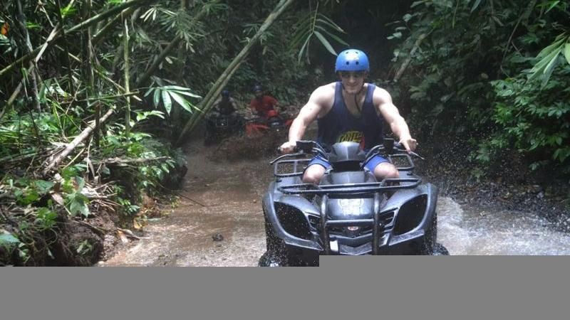 Bali Single Quad Bike and Rafting Tour