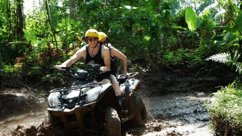 Bali Tandem Quad Bike and Rafting Tour