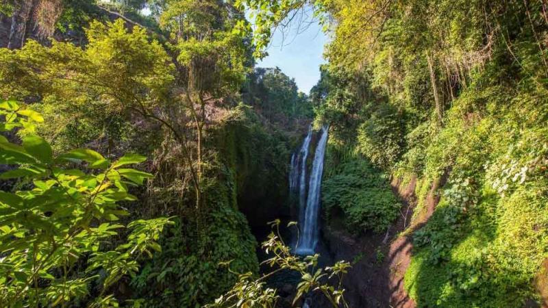 Bali Aling Aling Waterfall