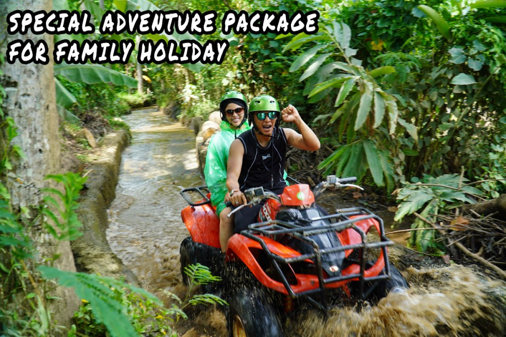 Bali Atv Riding Adventure for Family – USD $120 (2 persons)