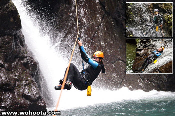 Awesome! Thrilling Adventure in Bali Kalimudah and Kali Kecil Canyons