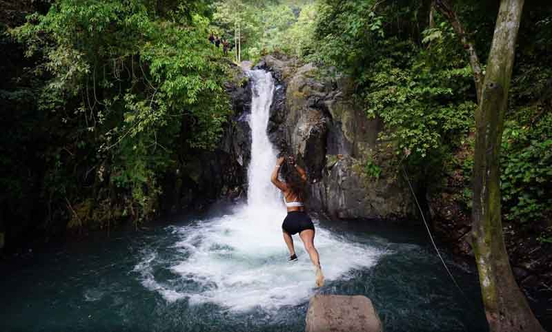 The Most Recommended Cliff Jumping Spot in Bali