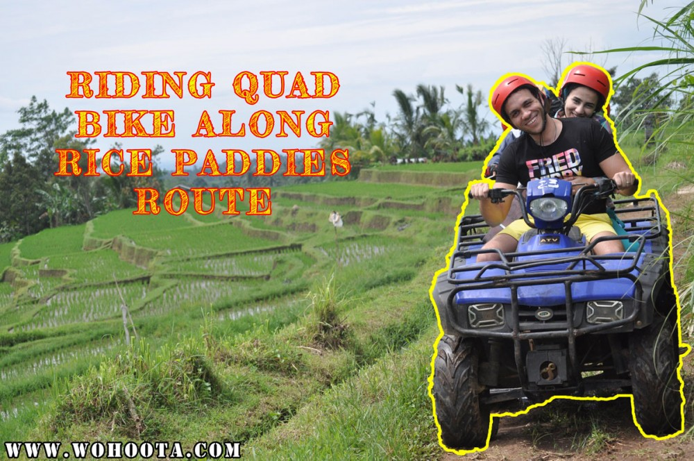 Quad Bike Bali Tour with Rice Paddies Tracks