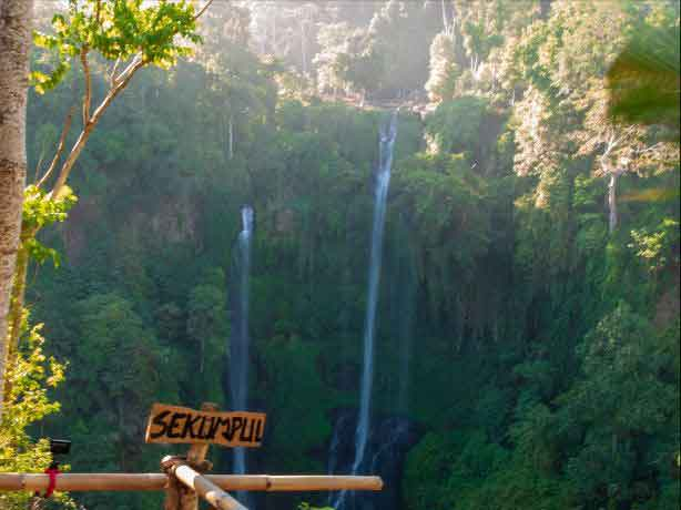 Discovery of Secret and Wonderful Waterfall in Bali