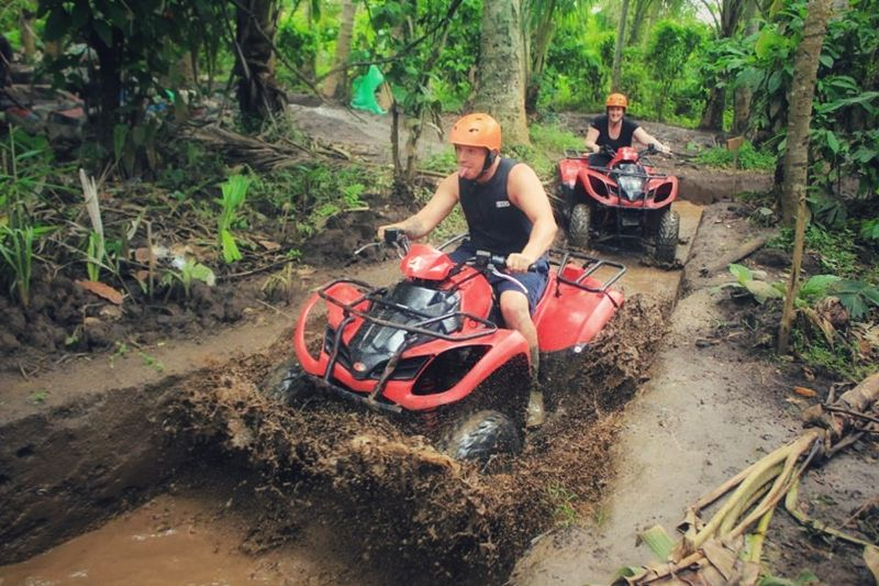 White Water Rafting and Atv, Fun Outdoor Activities in Bali Island