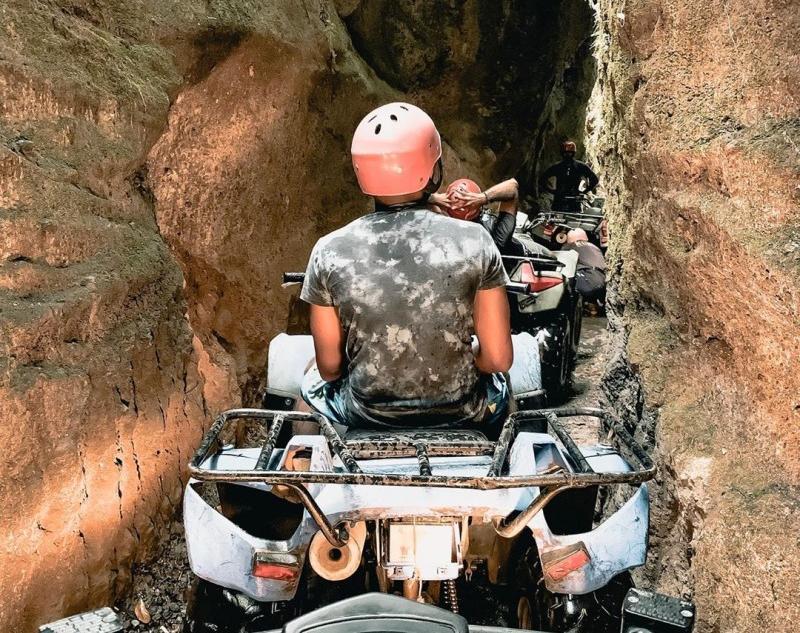 ATV Riding at Bali Cave