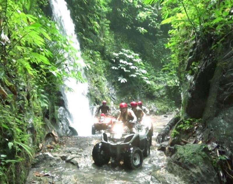 Bali Quad Bike Waterfall
