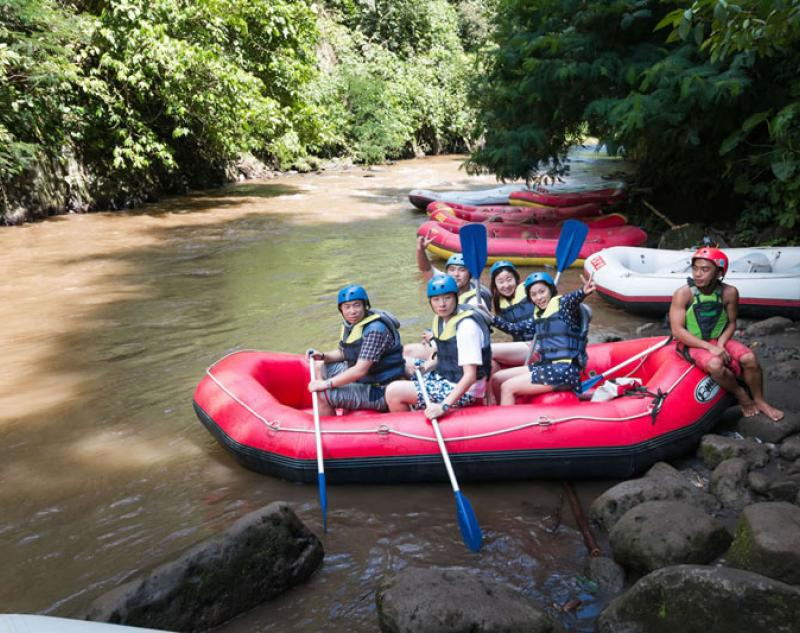 Bali White Water Rafting River