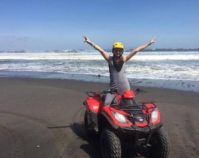 Beach Point of Bali Quad Bike Tour