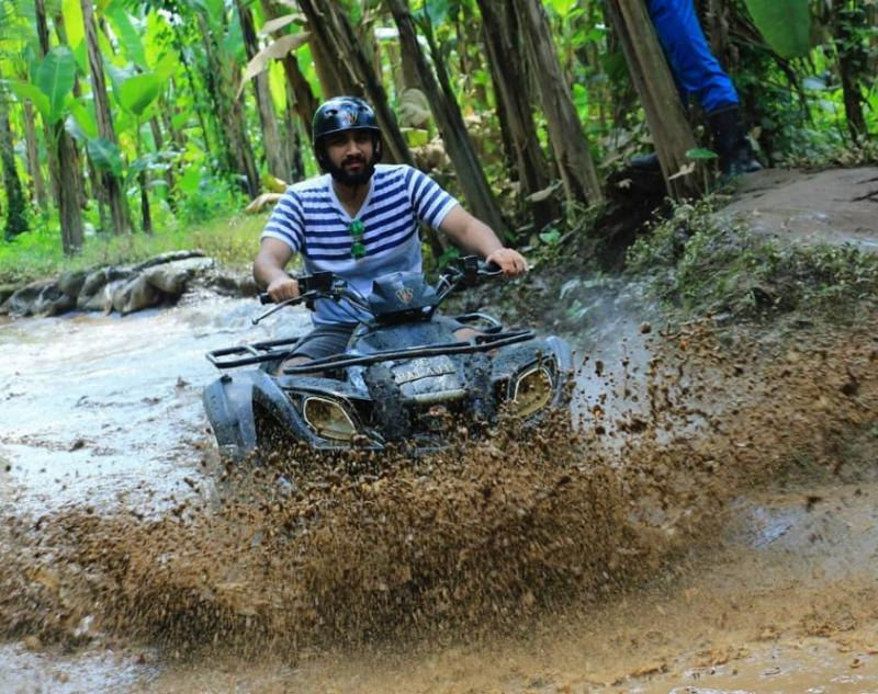 Conquering Muddy and Wet Track in Bali ATV Adventure