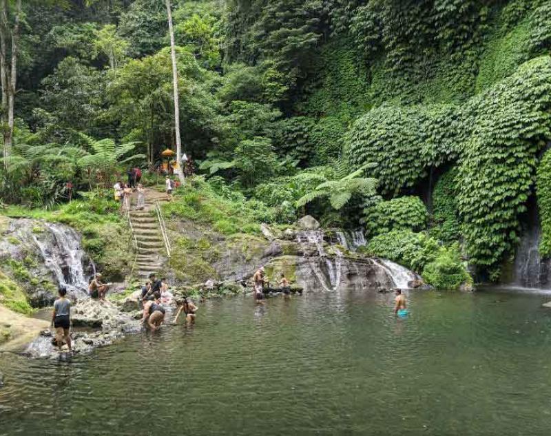 Hidden Waterfall Tour Bali
