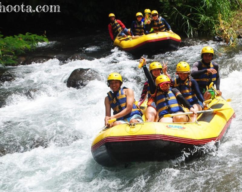 Rafting at Melangit River