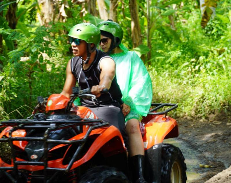 Quad Bike Adventure in Ubud Village