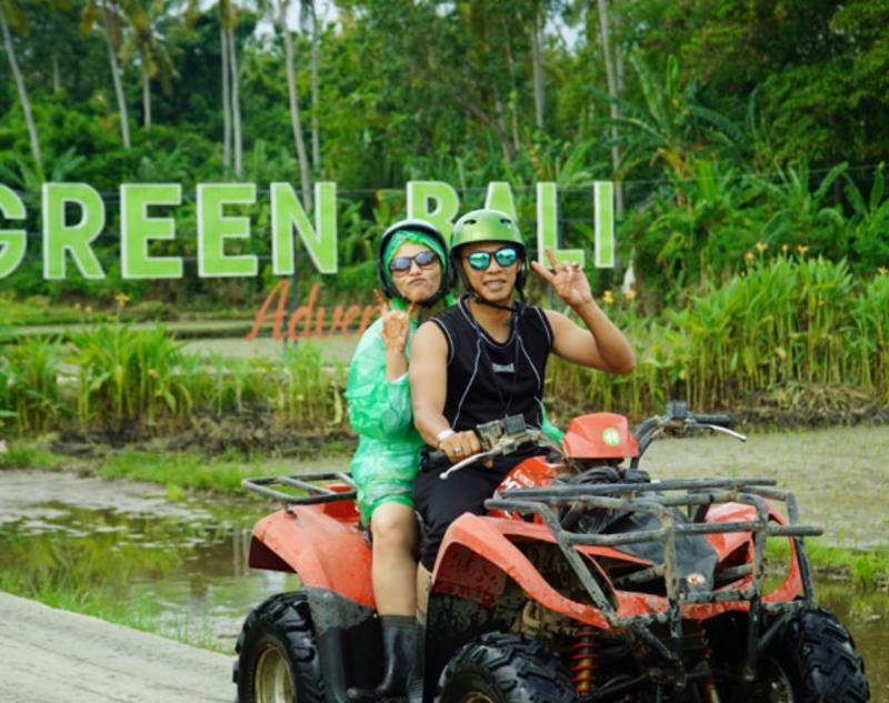 Ride Quad Bike in Bali Island