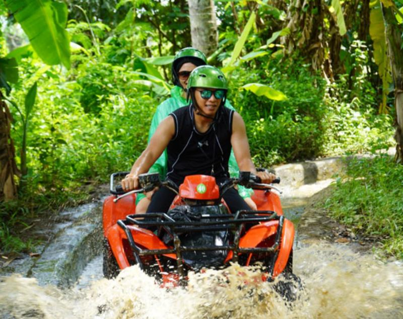 See Beautiful Panorama of Ubud on Quad Bike