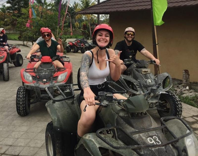 Start Point of Bali ATV Adventure