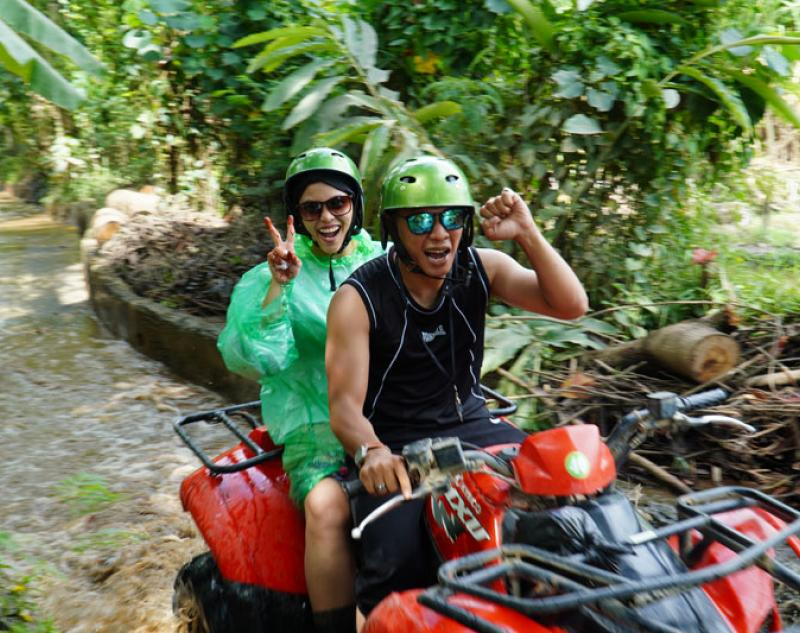 Tandem Bali ATV Riding