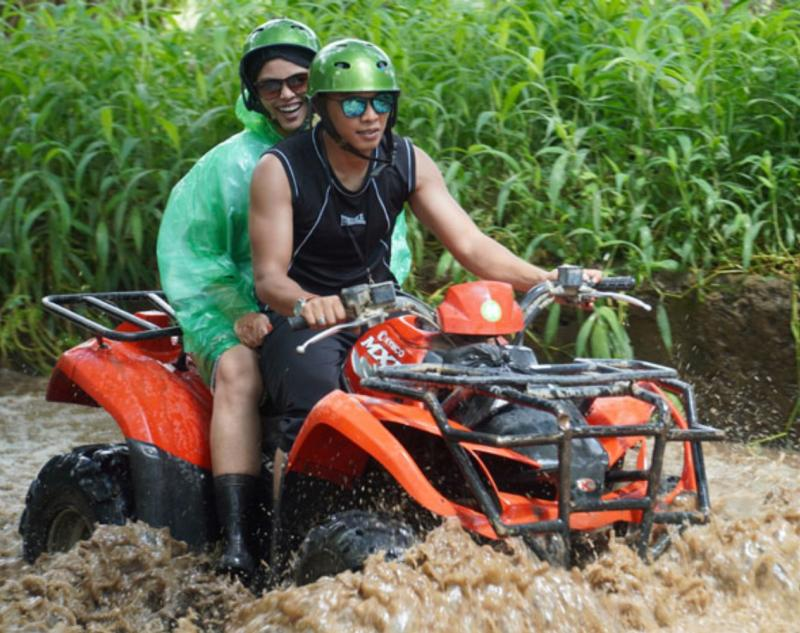 Tandem Quad Bike Ride in Ubud
