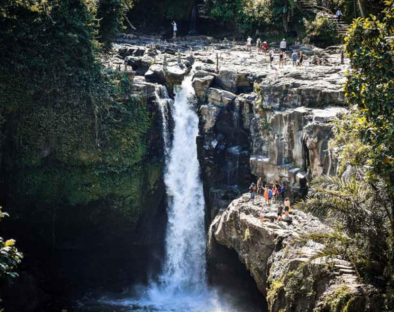 Tegenungan Waterfall Location