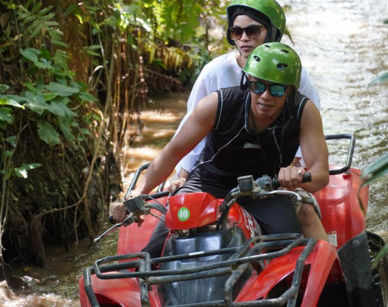 Ubud ATV Riding Tour