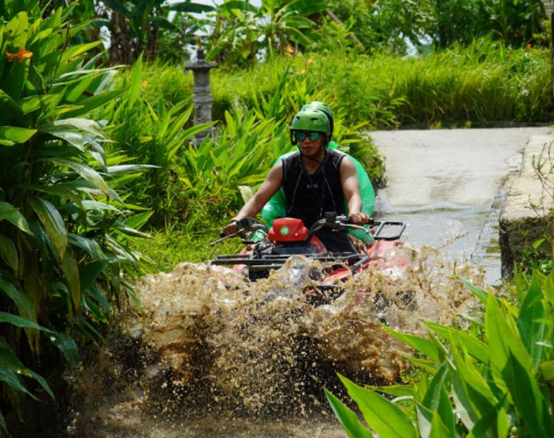 Ubud ATV Route with Green Panorama