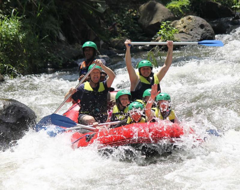 Ubud White Water Rafting Adventure