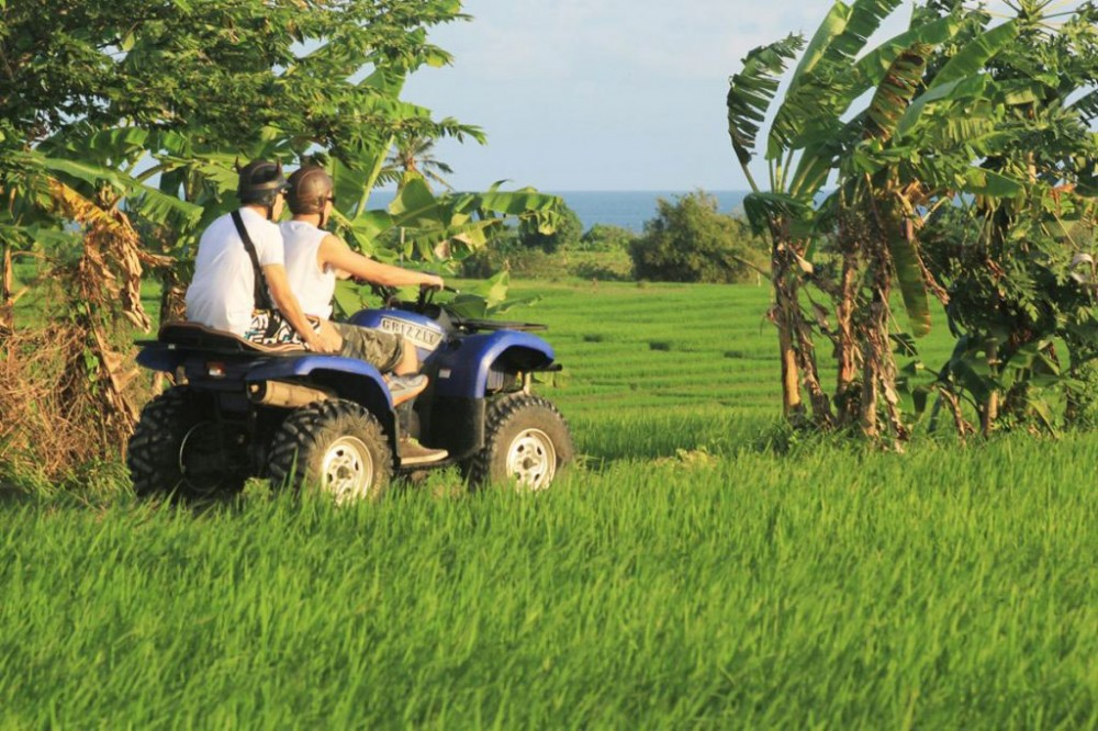 ATV Adventure in Bali Rice Paddies