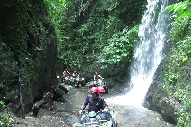ATV Adventure in Bali Waterfall