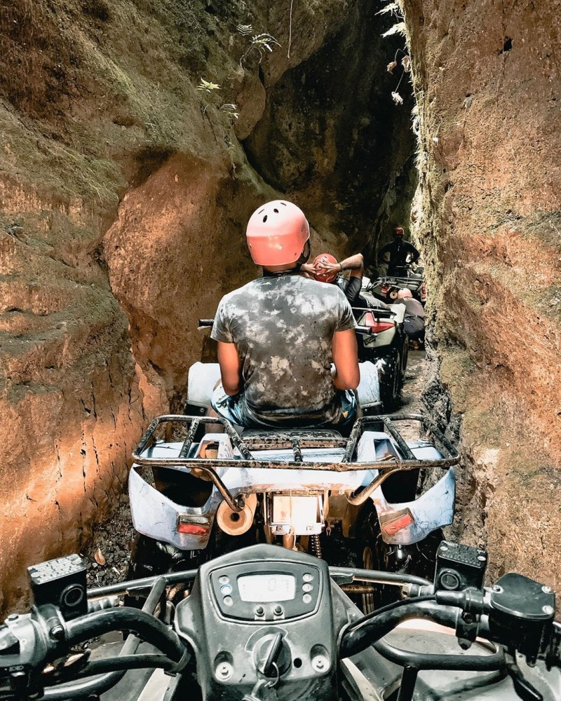 ATV Riding at Bali Cave
