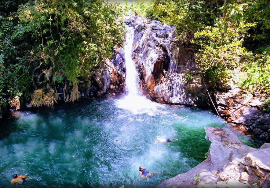 Fun Activities in Aling-Aling Waterfall