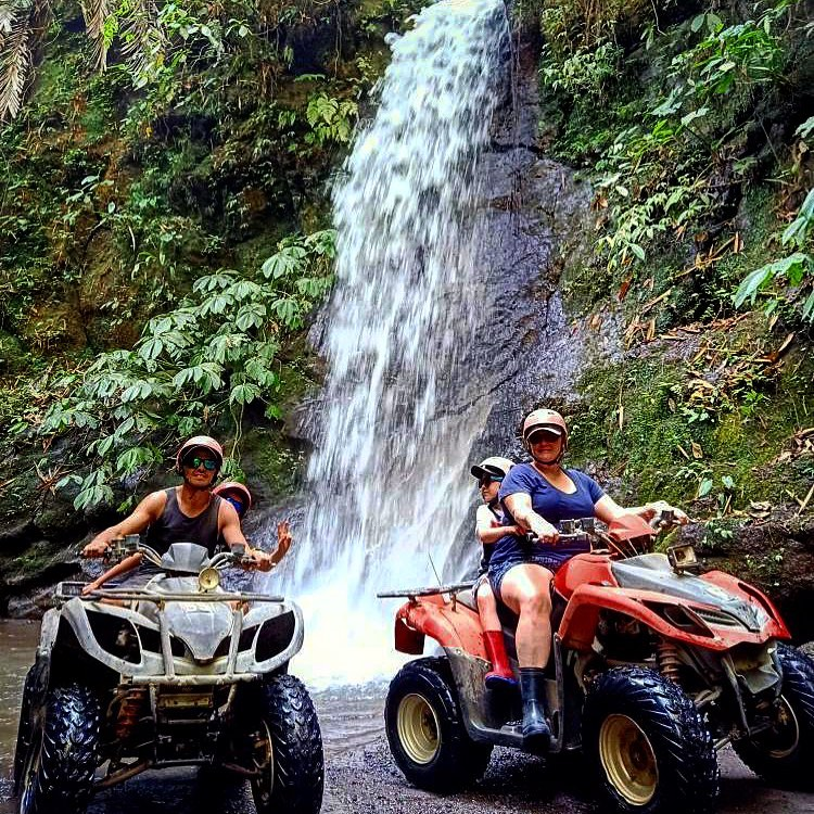 Bali ATV Adventure at Waterfall Point