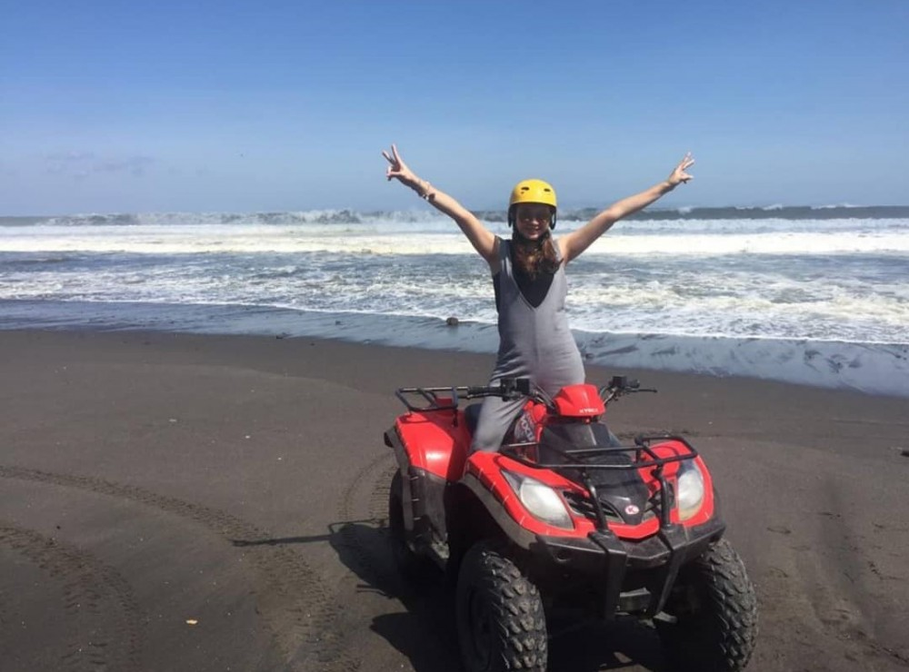 Beach Point of Bali Quad Bike Tour