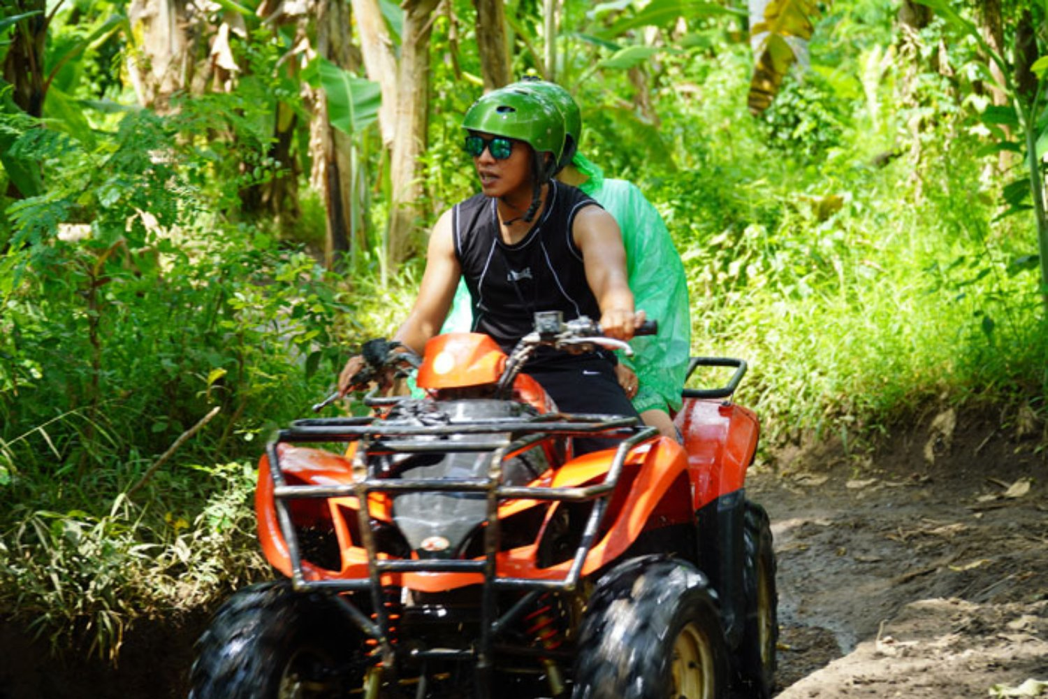Do a Turn in ATV Bike Adventure