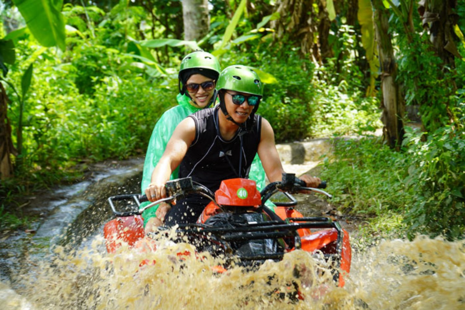 Fun Experience in Bali Quad Bike Tour
