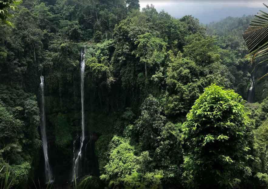 Hidden Waterfall Bali