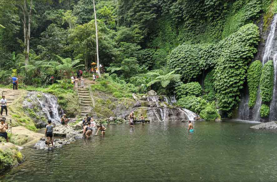 Hidden Waterfall Tour Bali