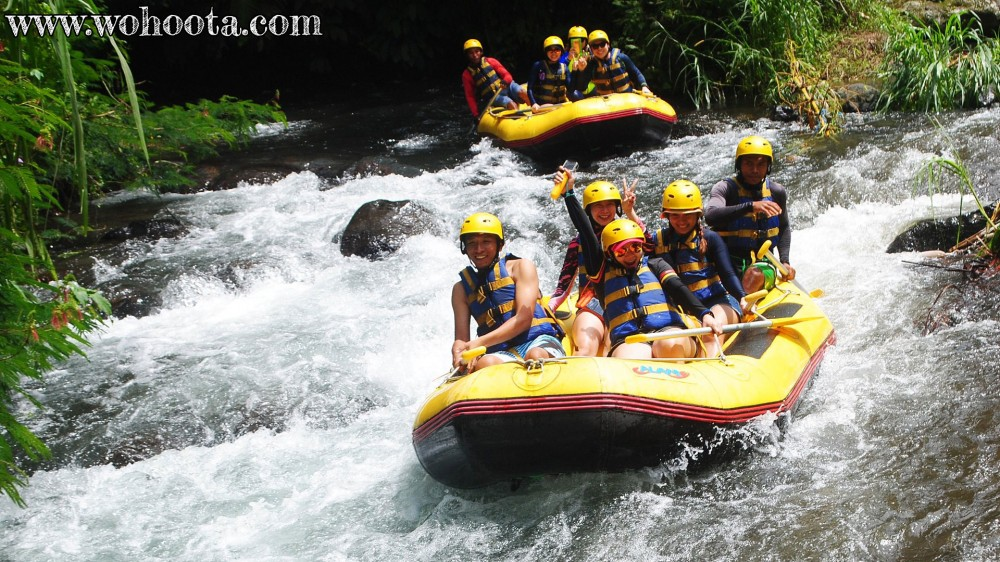 Rafting at Melangit River