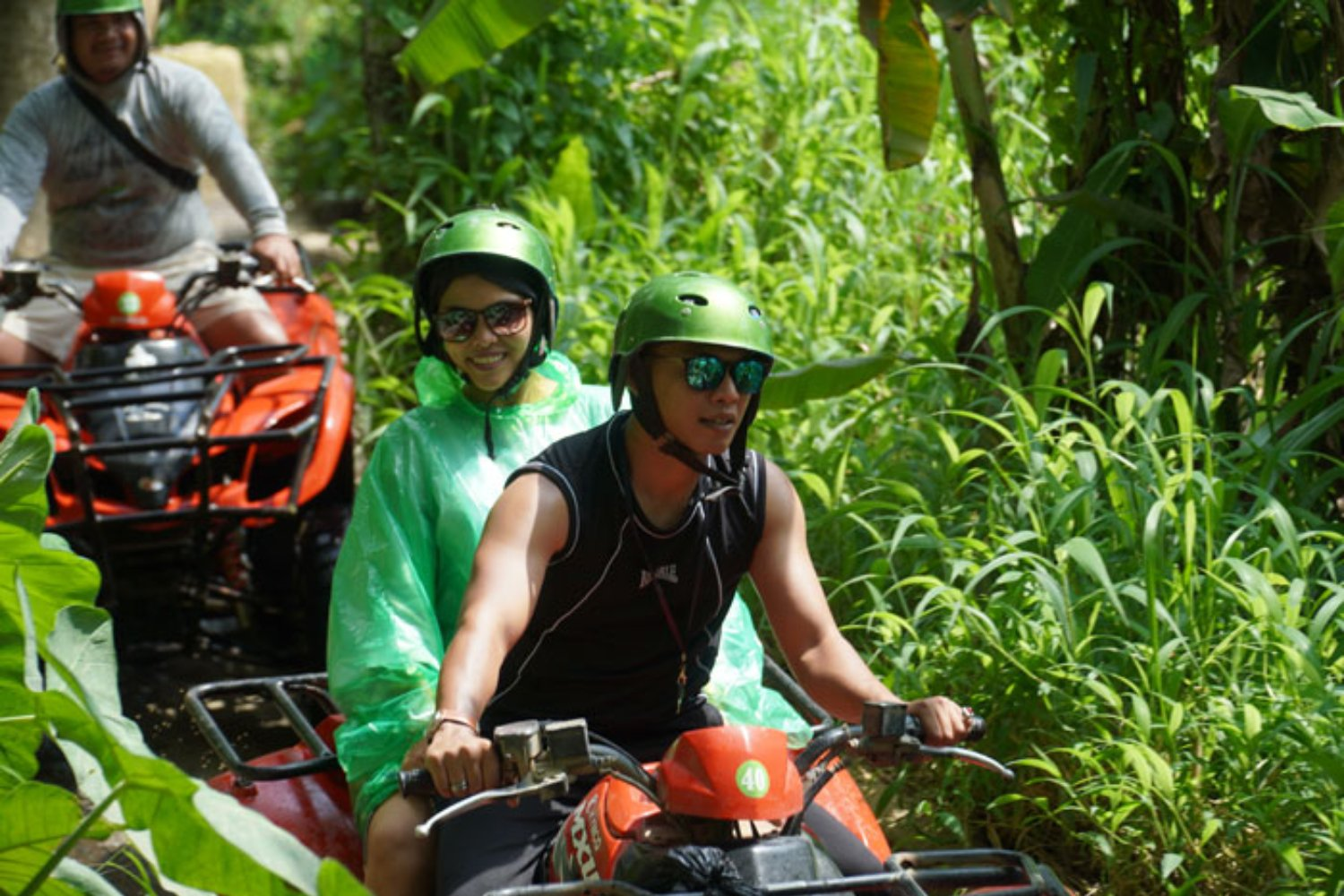Private Family Quad Bike Adventure in Bali