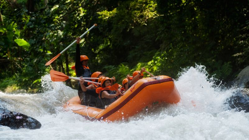 Rafting at Ubud River