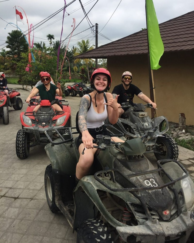Start Point of Bali ATV Adventure