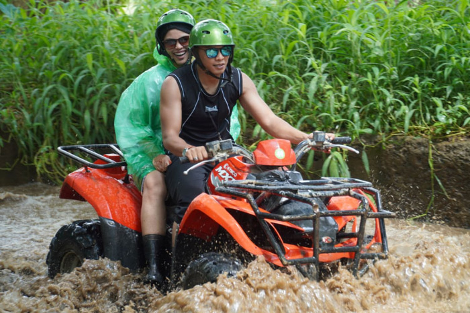 Use Safety Equipment in ATV Bike Adventure
